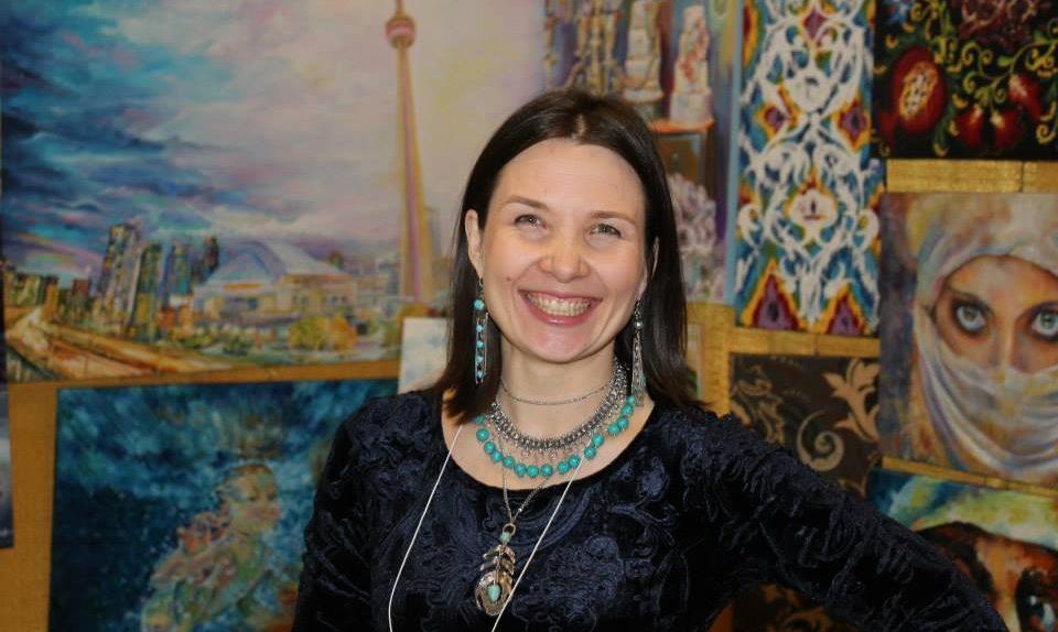 Portrait Artist Toronto - Olga Pankova